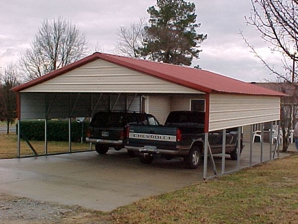 2 Car Carport Pricing Pictures To Pin On Pinterest Pinsdaddy: 3 car metal garage kits