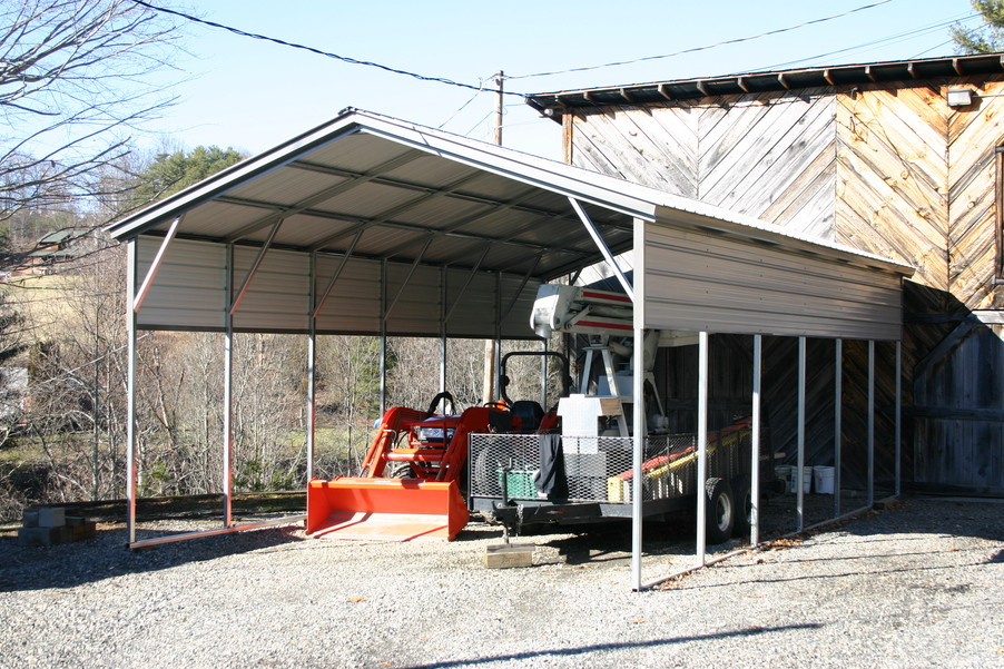 All Metal Carport : Carport all metal carports