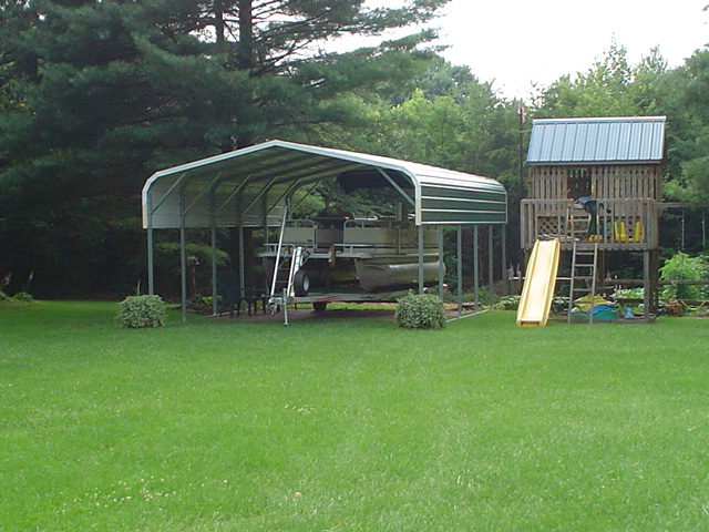 Metal Boat Shelter Kits : Boat covers van bus shelters carports