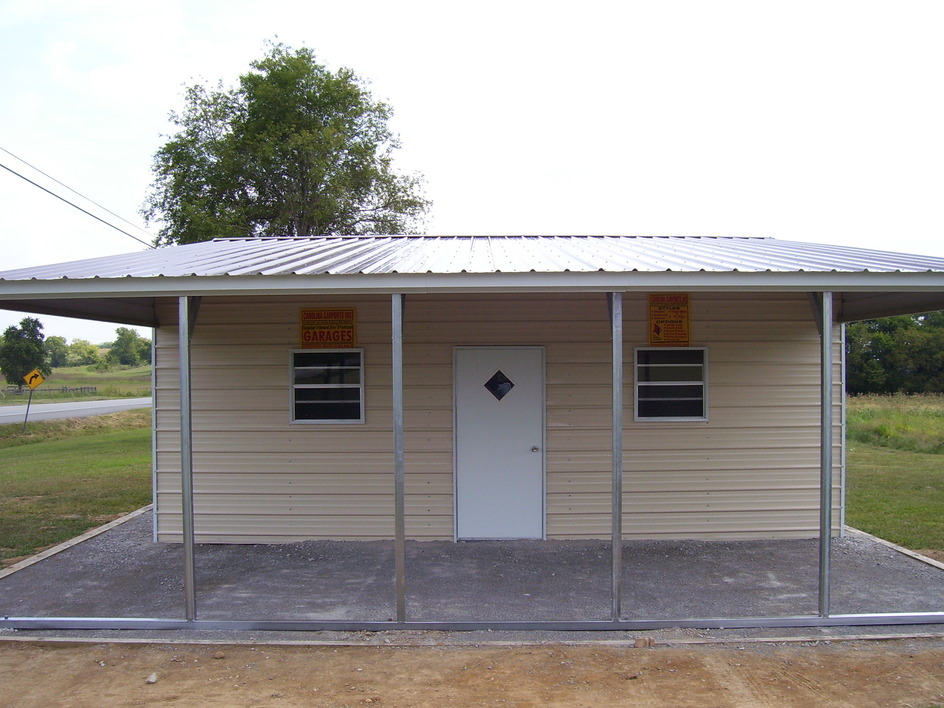 Metal carports lean to images for Carport with storage shed attached