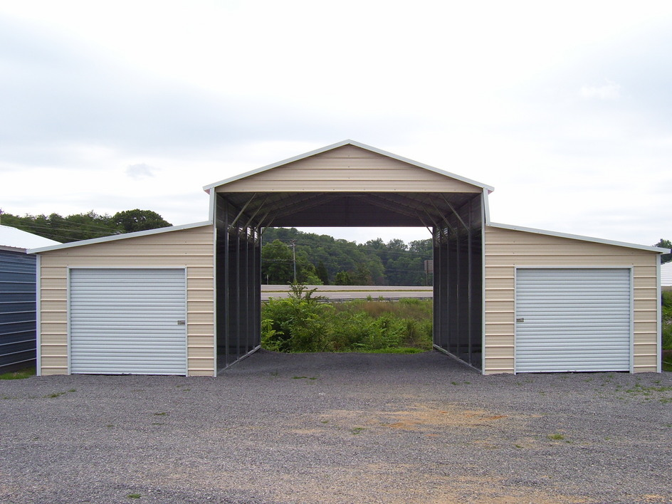Rv garage barn style joy studio design gallery best design for Metal rv garage