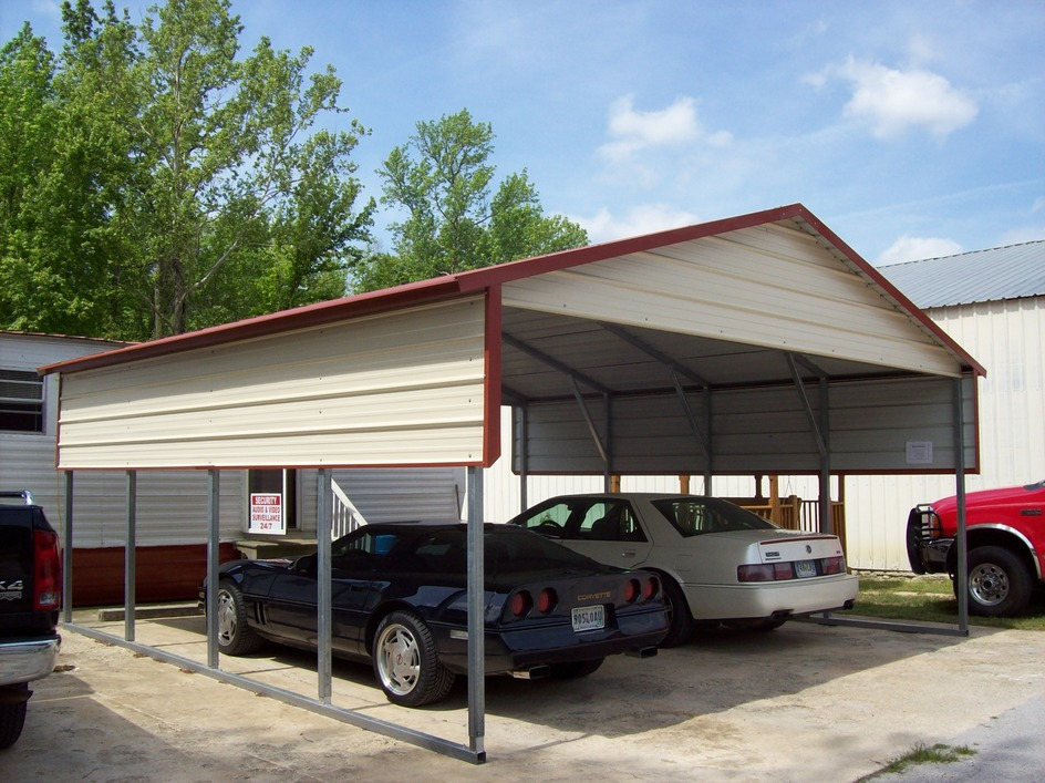 Portable Steel Carports Kits : Louisiana la carports metal steel