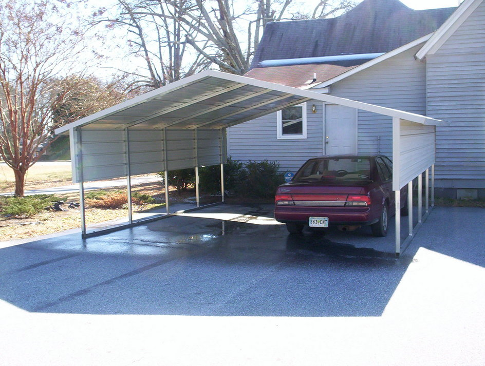 Carolina Carport Black : Carports metal steel nebraska ne