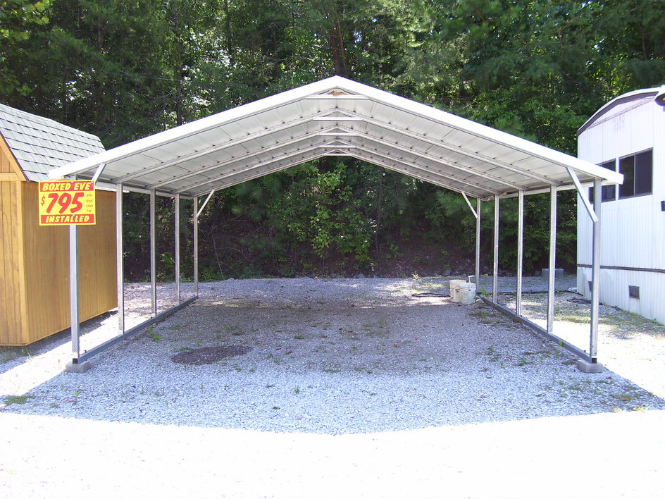 carports metal steel carports new hampshire nh. Black Bedroom Furniture Sets. Home Design Ideas