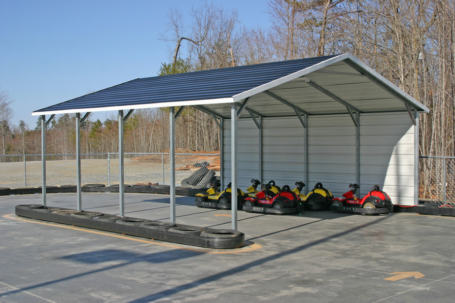 Carolina Carport Black : Carports metal steel north dakota nd