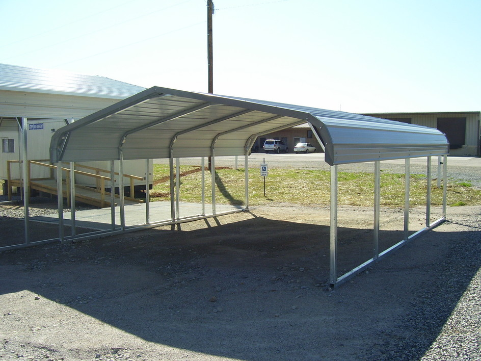 Metal carports steel carports for Carport garages