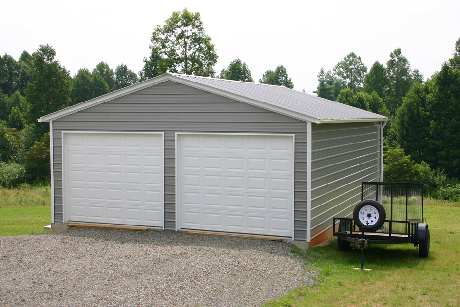 Garage buildings metal garage buildings steel garage for Garage building packages