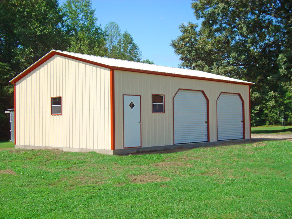 Metal garages steel garage prices packages georgia for Carport shop