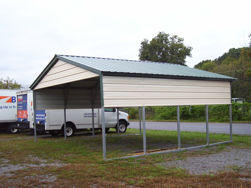 Metal carport kits menards 12