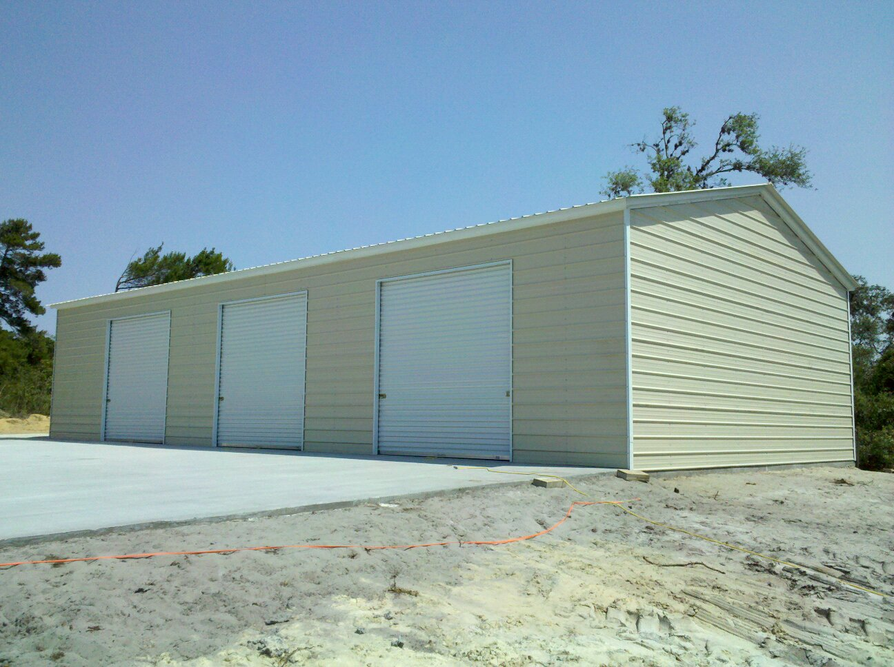 Direct Metal Carports : Southern garage packages