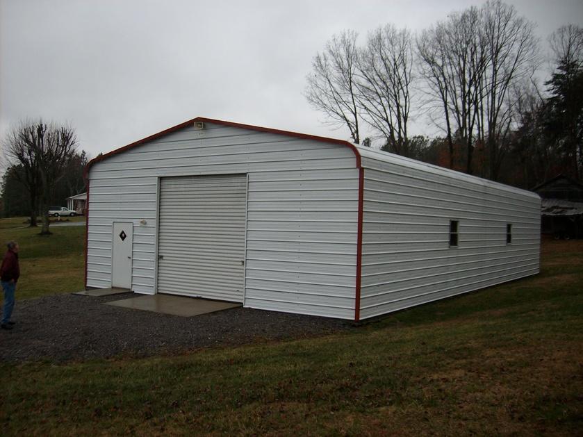Metal Carports Mississippi : Southern garage packages