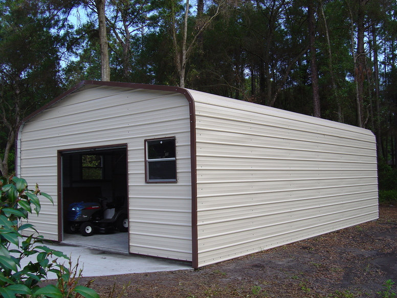 Carolina Carports Steel Buildings : Metal garages steel garage prices packages georgia