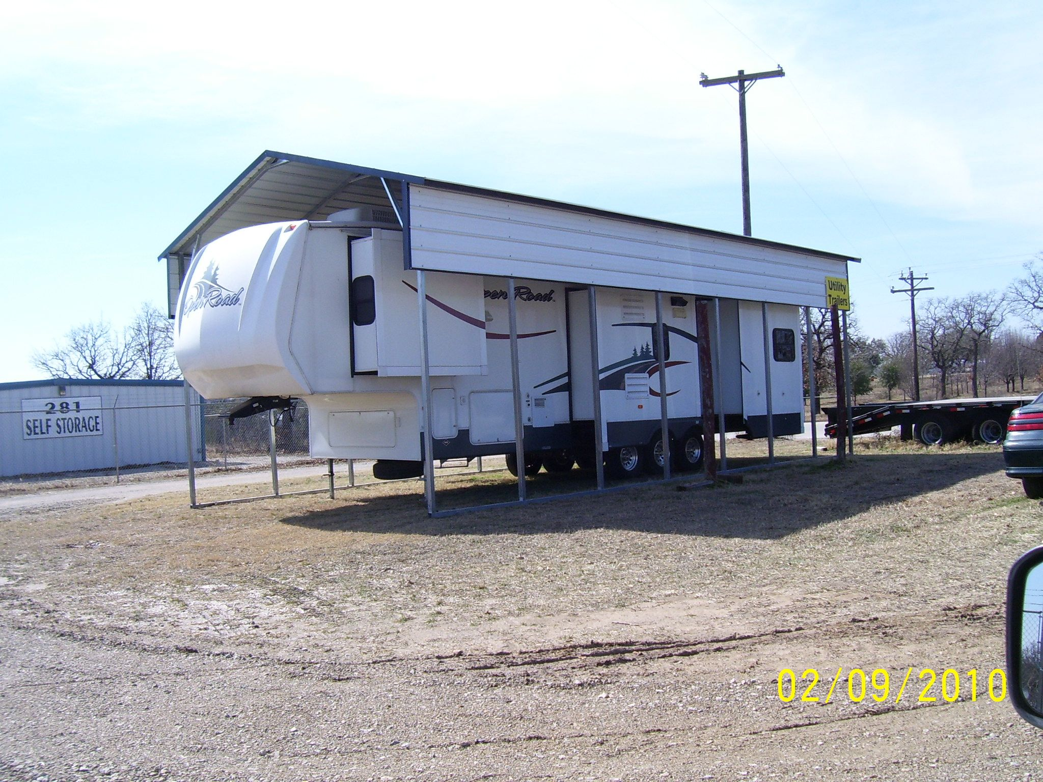 Rv Metal Carport Panels : Southern rv cover packages