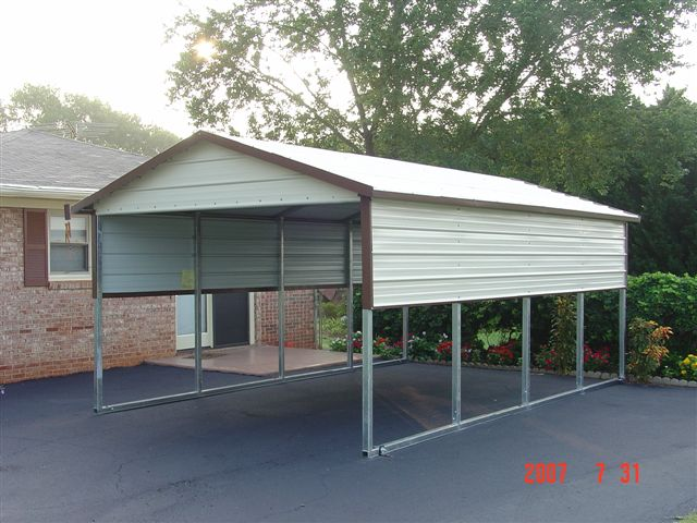 Carport cheap carports for sale for Metal garage pics