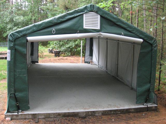 Instant Car Garages : Canvas canopies connecticut ct