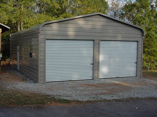 Steel building packages 3 car metal garage kits